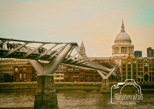 Millennium Bridge and St Paul's