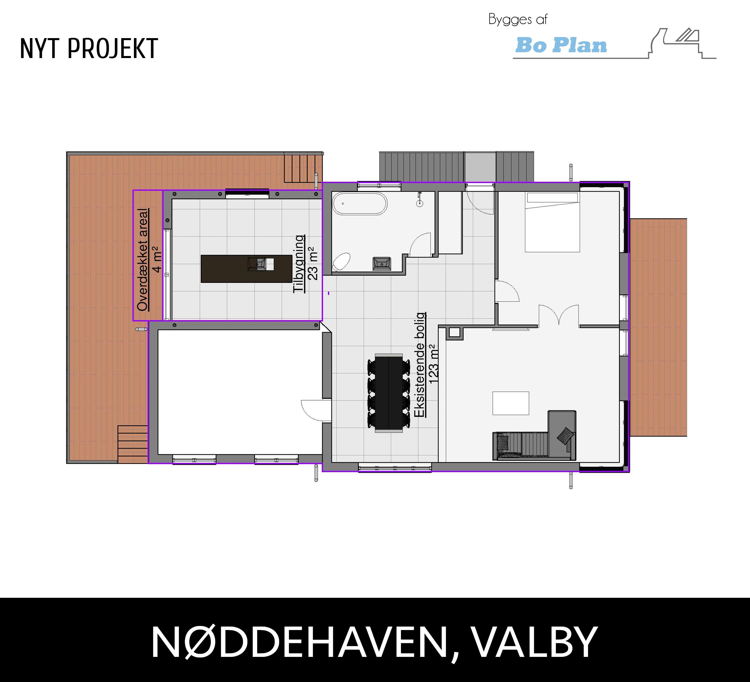 Nøddehaven, Valby2
