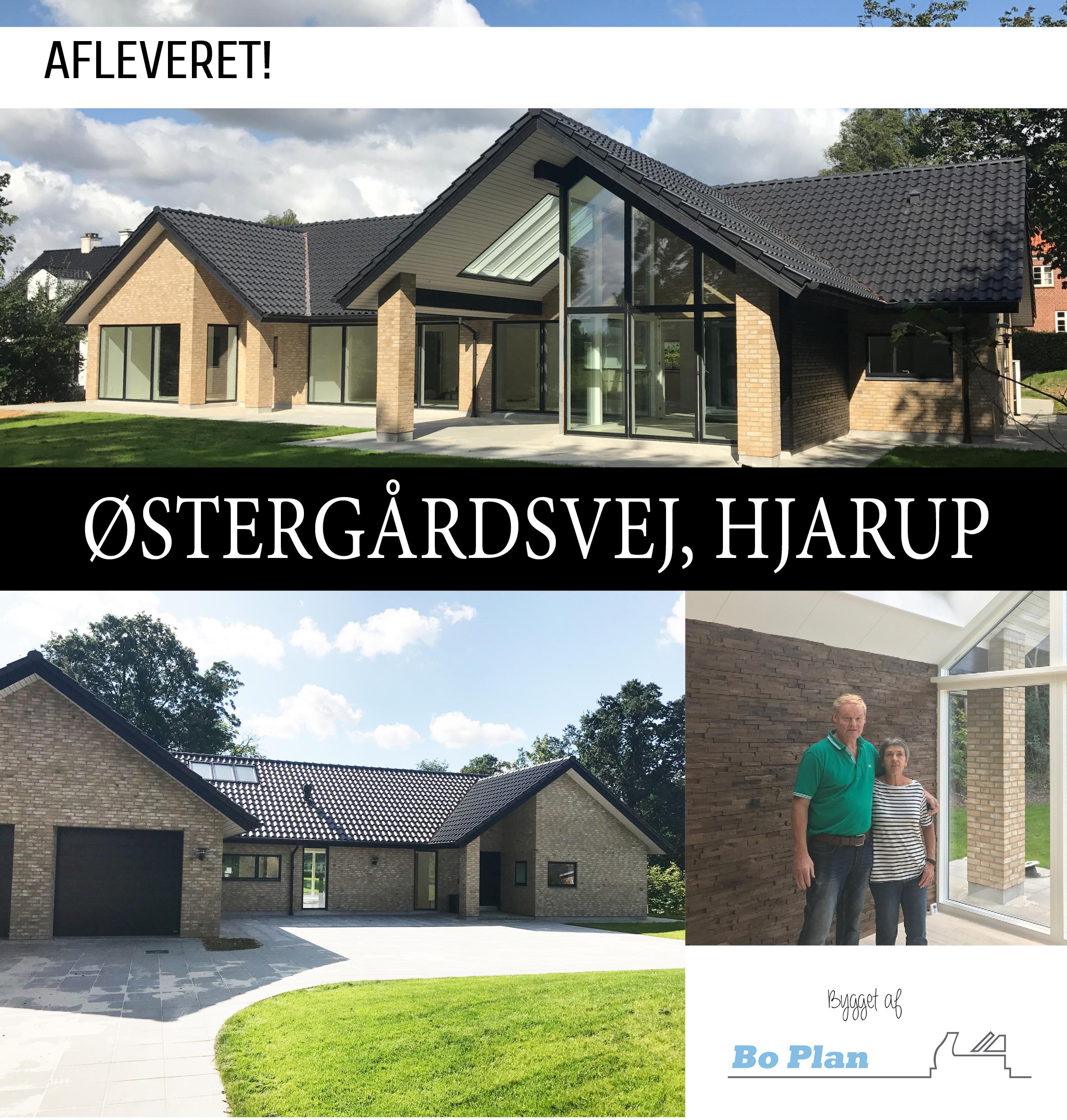 Østergårdsvej,_Hjarup_afleveret