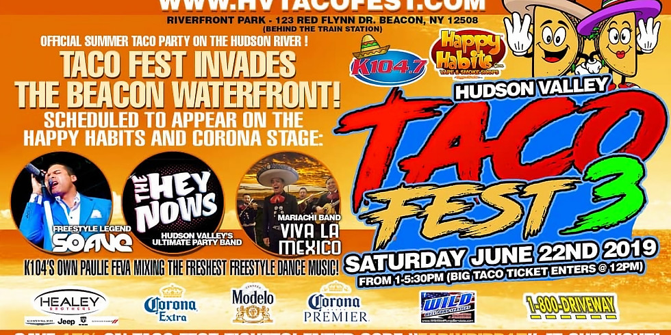 The Hey Nows at Taco Fest!