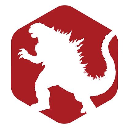 Godzilla Decal