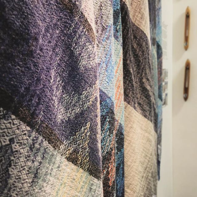Sneak peek of the Arra Textiles One Year On stand at New Designers 2016