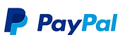 PayPal logo in blue