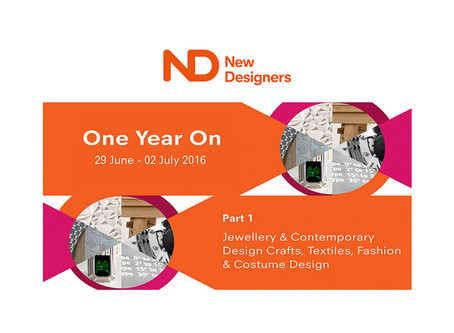 New Designers - One Year On 2016