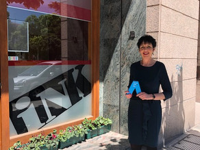 "Maite Regaira, gana el premio Caixabank : "" A mujer profesional Autónoma de CyL"