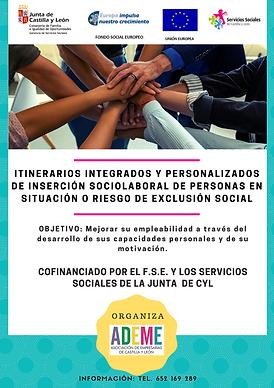 ITINERARIOS DE INSERCIÓN SOCIOLABORAL