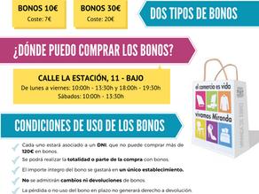 Comercios participantes: II Campaña de Bonos Comercio