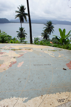 Meridian point, Sao Tome Island