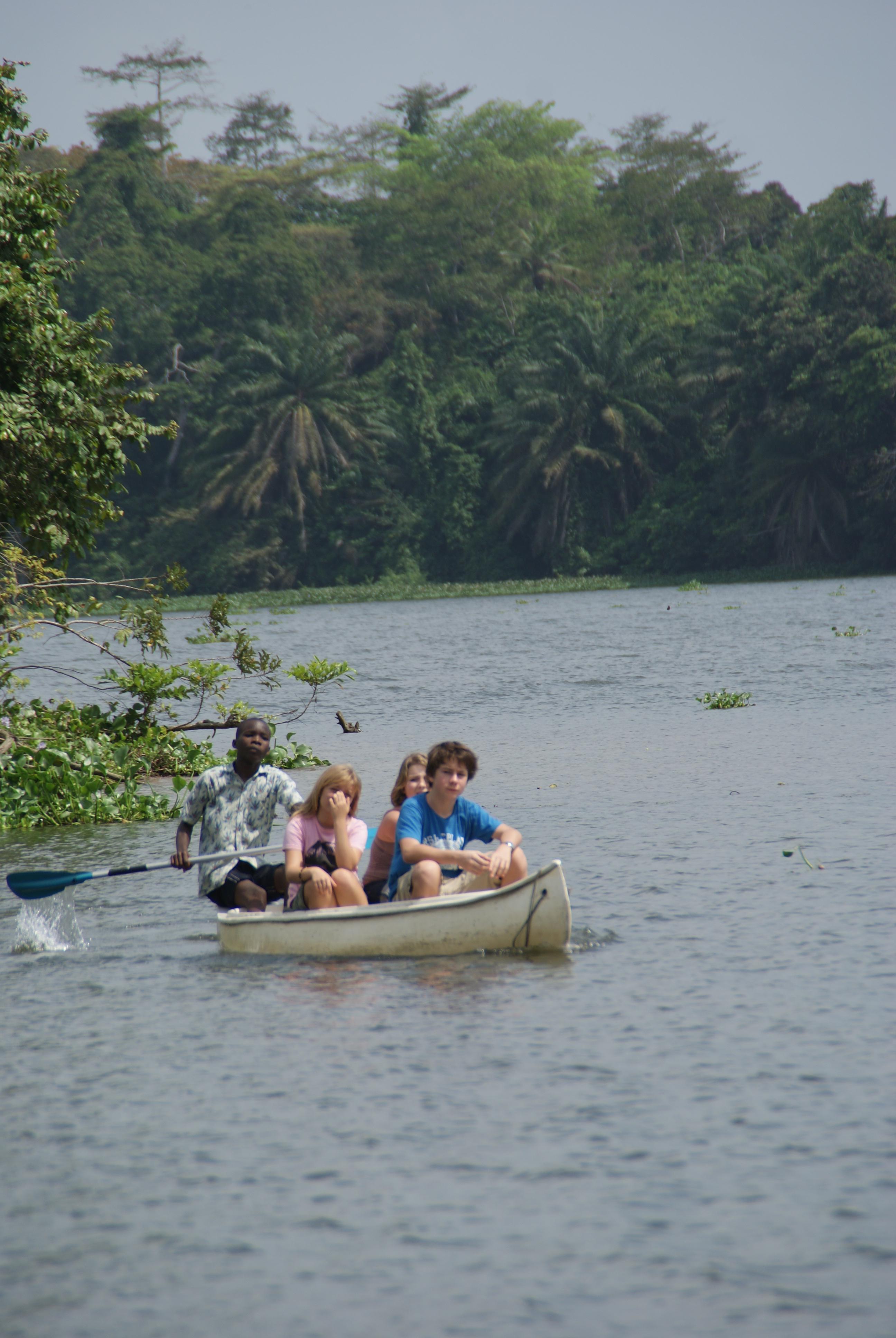 Monkey Island, Ivory Coast
