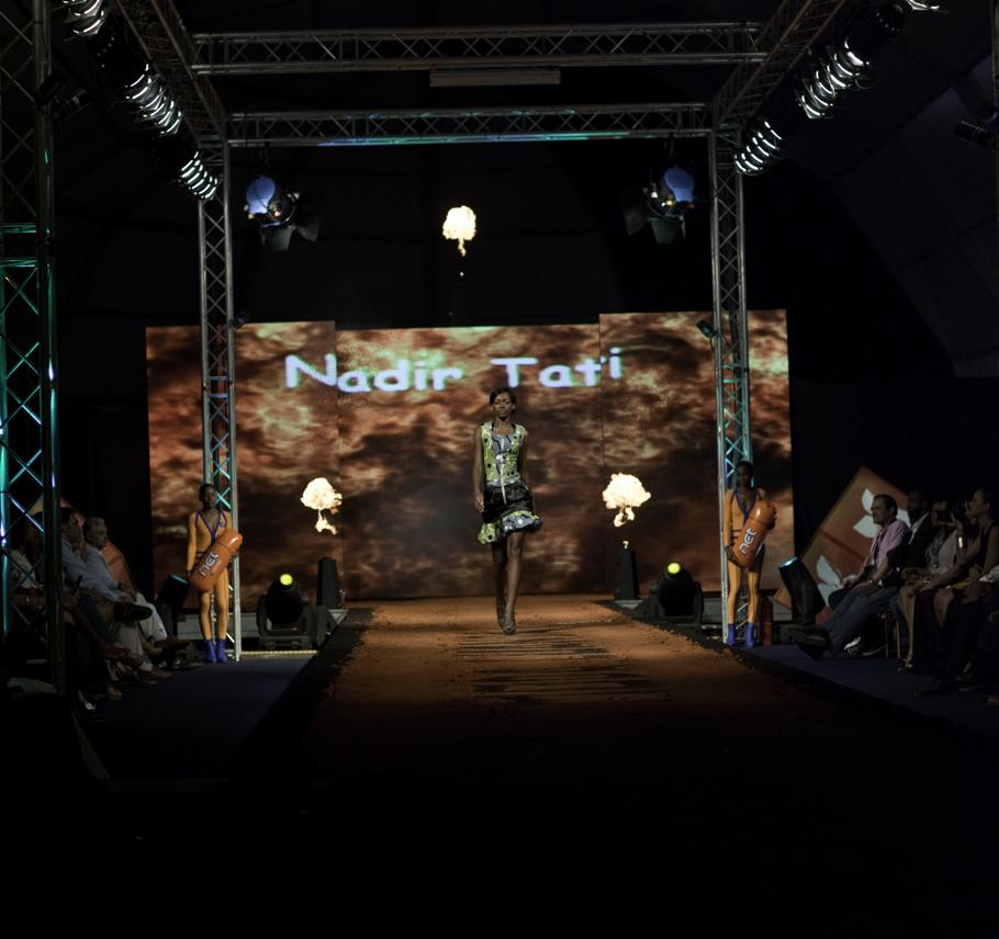 Fashion show, Angola