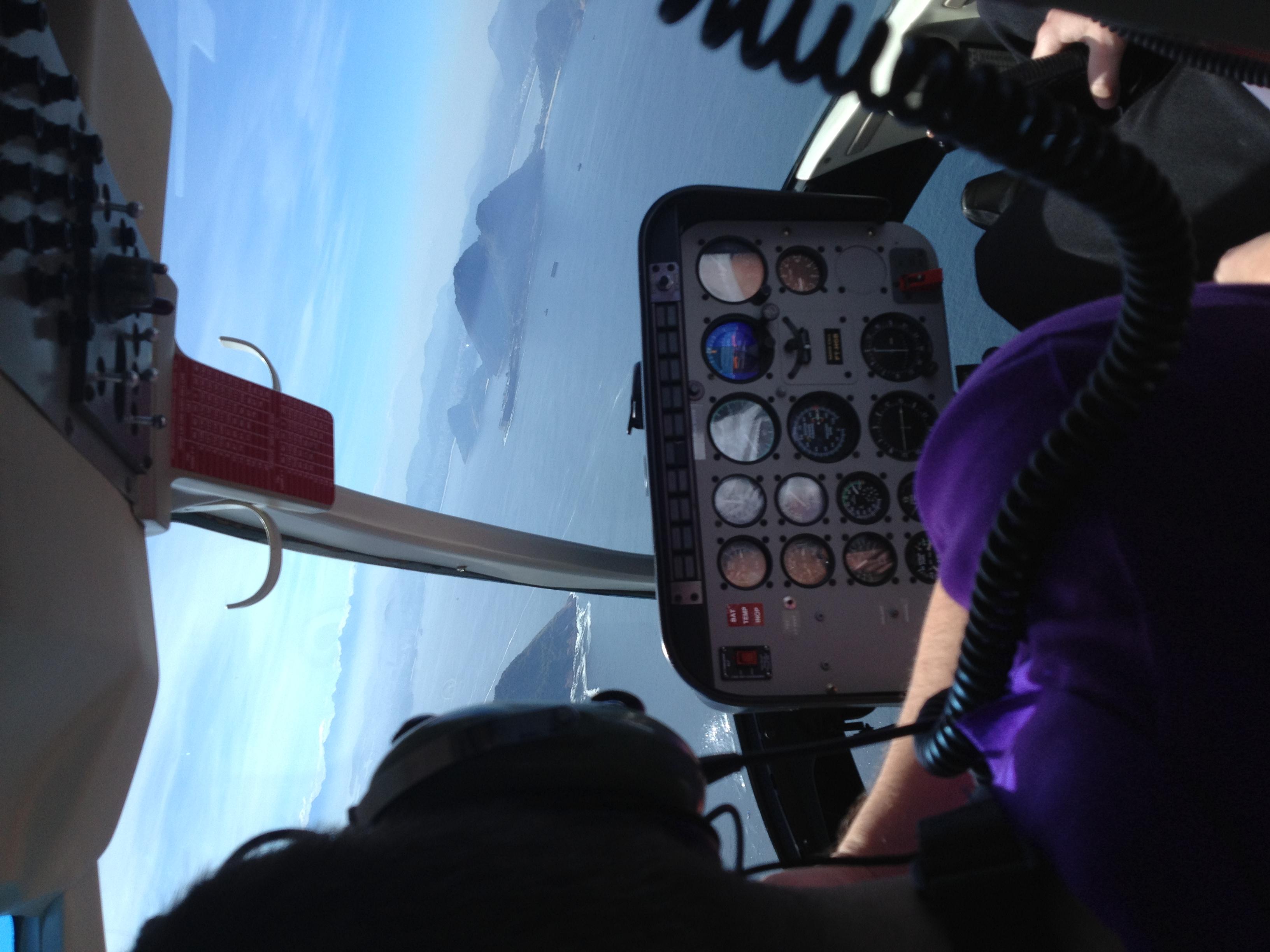 Helicopter tour, Rio de Janeiro, Bra