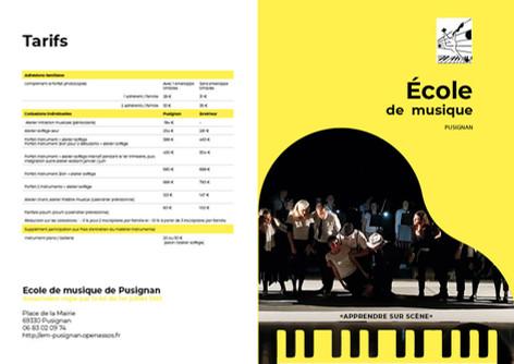 Ecole de musique PUSIGNAN