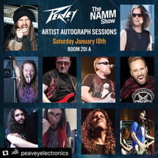 Gabriel Guardian PEAVEY Autograph Session and Demos @ NAMM 2020