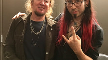 Gabriel Guardian MEETS Iron Maiden's Adrian Smith!!!