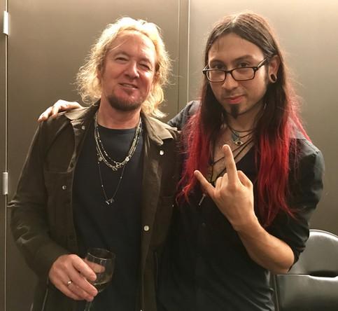 Gabriel Guardian MEETS Iron Maiden's Adrian Smith!!!