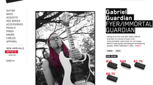 EMG Pickups welcomes Gabriel Guardian to Artist Roster