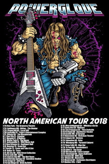 Gabriel Guardian joins PowerGlove for North American Tour