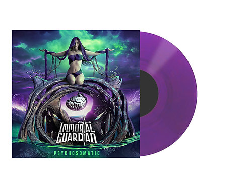 "Psychosomatic Vinyl (Transparent purple 12"")"