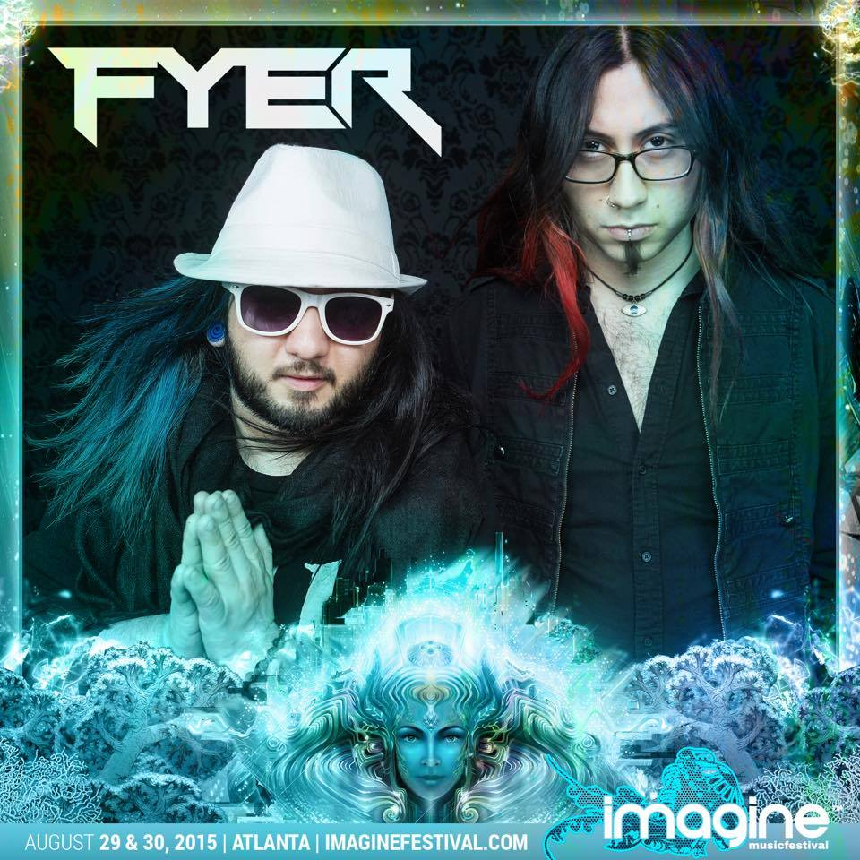 FYER Imagine promo graphic