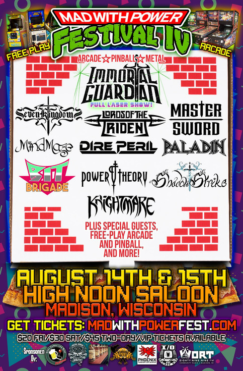Immortal Guardian Announced as Headliner for Mad With Power Fest 4!