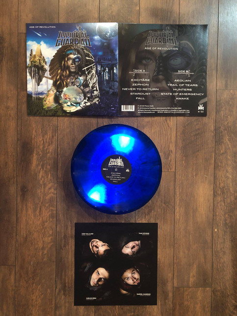 Age of Revolution NOW AVAILABLE in LIMITED EDITION VINYL!!!