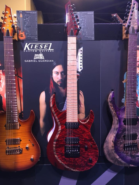Immortal Guardian @ NAMM - Kiesel Guitars, Peavey, Headrush, EMG Pickups, Alesis, and MORE!