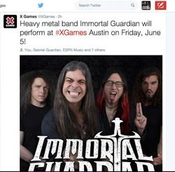 X Games IG tweet
