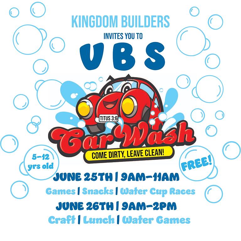 Kingdom Builders VBS