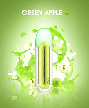 Одноразовые ЭС - HQD ROSY- GREEN APPLE (Зеленое яблоко)