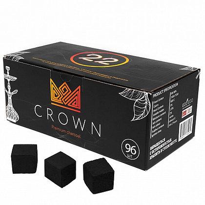 Уголь CROWN (22mm) - 1KG - 96 шт