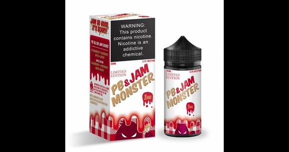 Jam Monster PB & Strawberry Jam