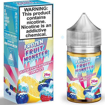 Жидкость Frozen Fruit Monster Salt Blueberry Raspberry Lemon Ice