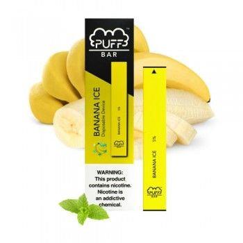 Одноразовая ЭС PUFF BAR BANANA ICE (Банан с холодком)