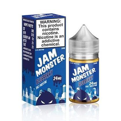 Жидкость JAM MONSTER SALT Blueberry