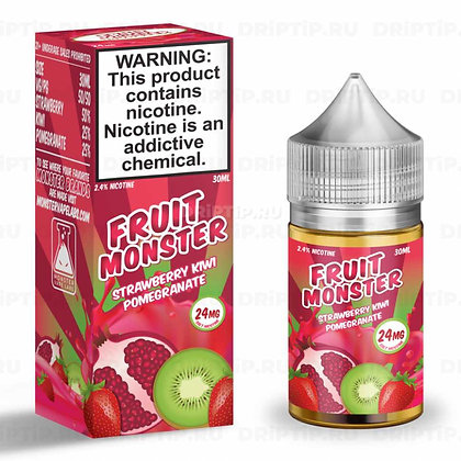 Жидкость Frozen Fruit Monster Salt Strawberry Kiwi Pomegranate Ice