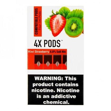 4X Pods - Kiwi Strawberry (киви-клубника)