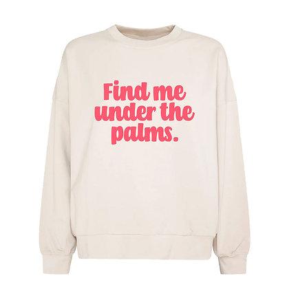 Plotterdatei FIND ME UNDER THE PALMS