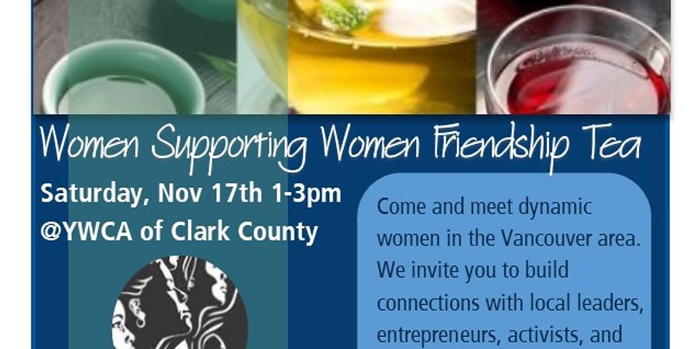 Women Supporting Women Friendship Tea