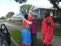 Maasai leaving Spokane