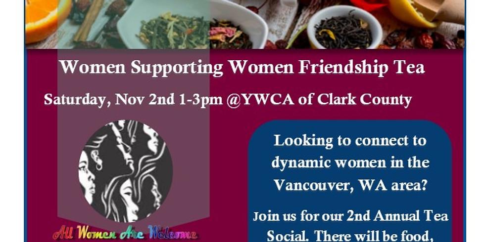 2nd Annual Women Support Women's Tea Social