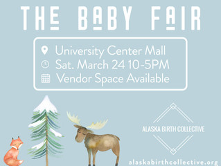 Alaska Birth Collective Baby Fair