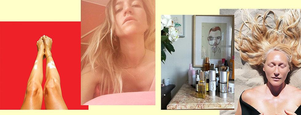 Klask cosmetics journal, tips peaux senisbles, nouveaux soins, pensées, portraits ,