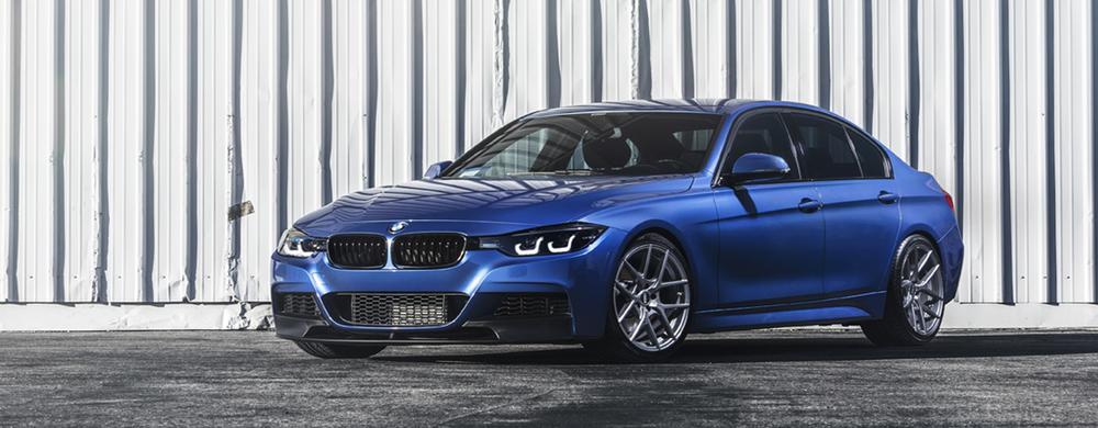 BMW F30 ESTORIL BLUE   V803 GUNMETAL 19″
