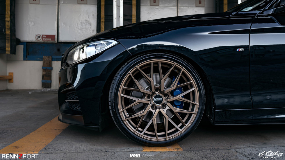 "V802 Matte Bronze 19"""