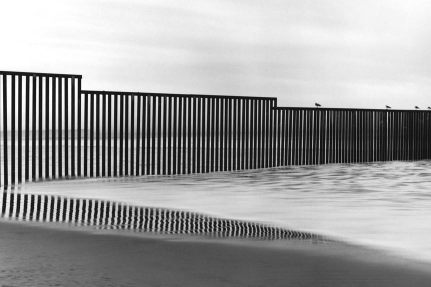 Tijuana's Ocean Fence