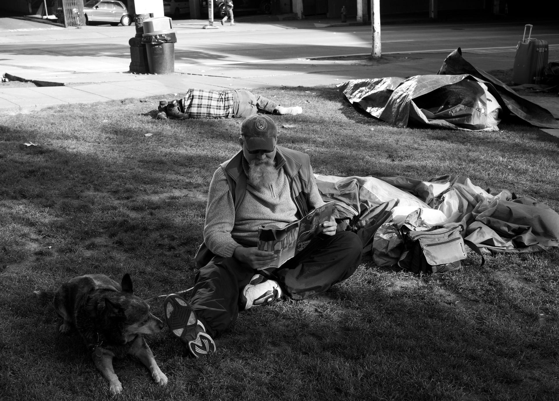20_Man Reading in City Hall Park.jpg