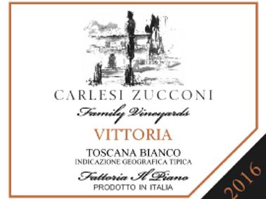 "IGT Bianco Toscano ""VITTORIA""  2017"