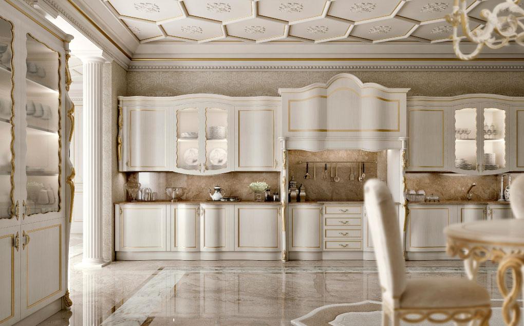 Cucine Di Lusso Classiche : Cucine classiche di lusso imperial: bologna spettacolointerviste