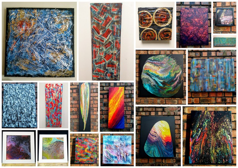 The 18 works from the exhibition that have sold