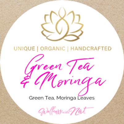 Green Tea and Moringa - Pyramid Tea Bags